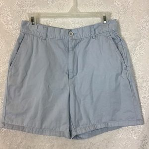 🛍 J Crew Wide Leg Shorts Blue 12 Used Read